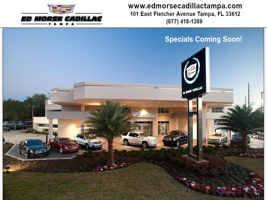 Ed Morse Cadillac Tampa is a Tampa Cadillac dealer and a new car and